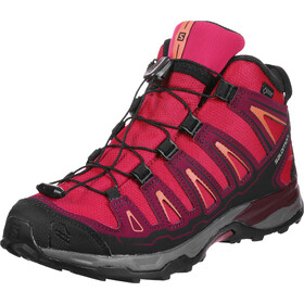 Salomon X-Ultra Mid GTX Shoes Kids pink